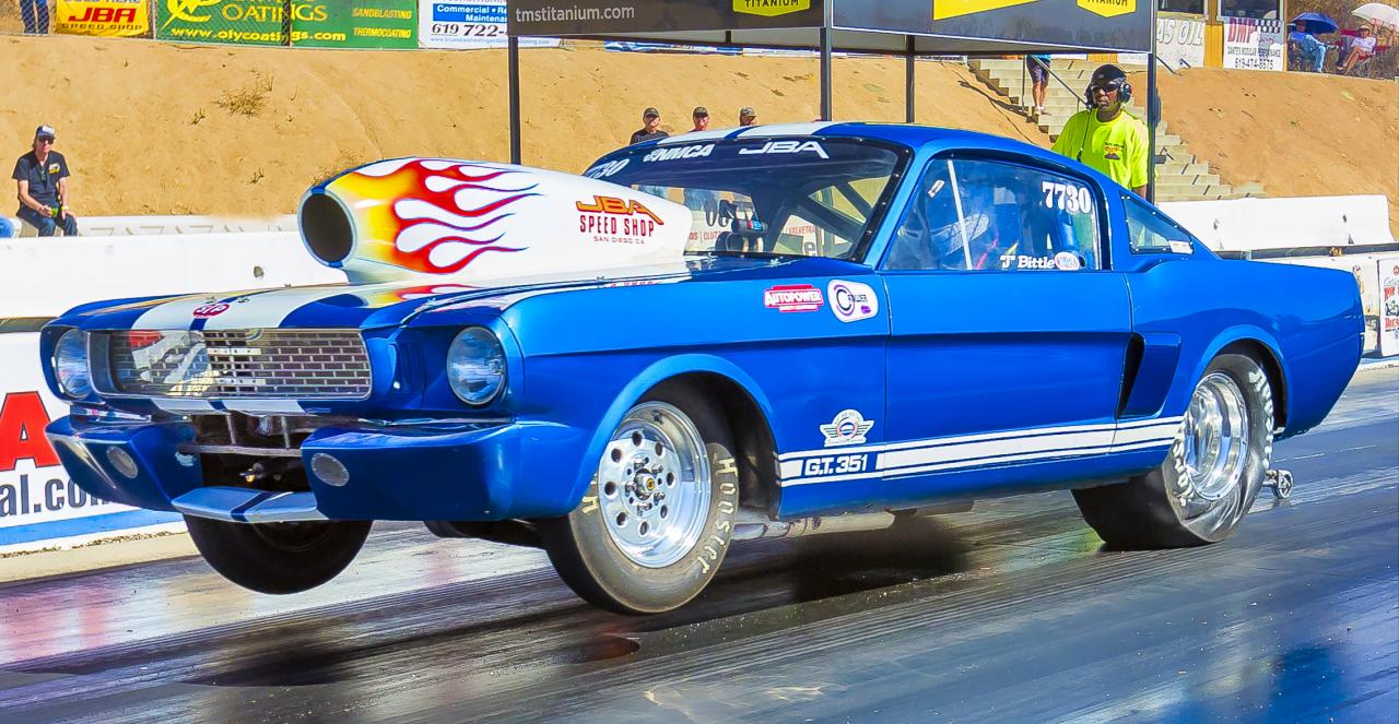 JBA Drag Car by Pete Liebig