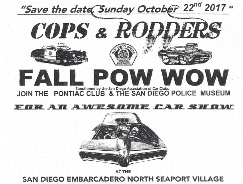 Cops & Rodders Fall Pow Wow 2017