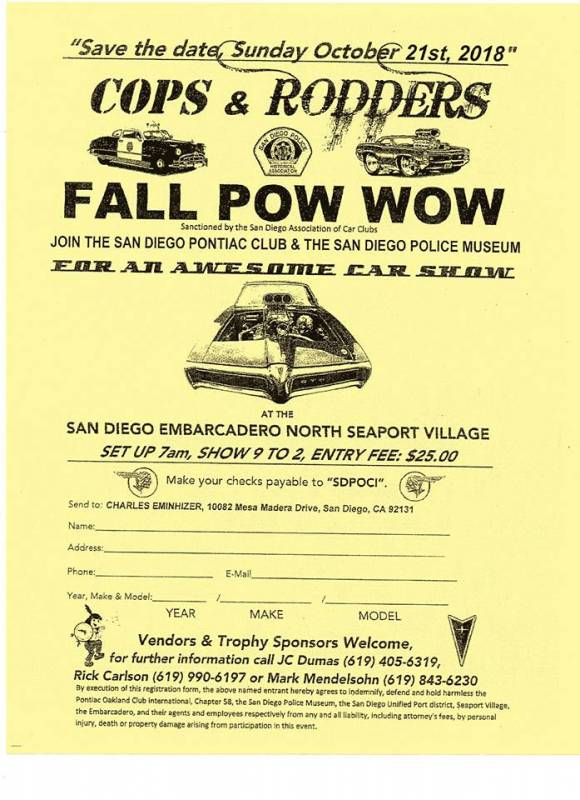 Cops & Rodders / Fall Pow Wow Car Show