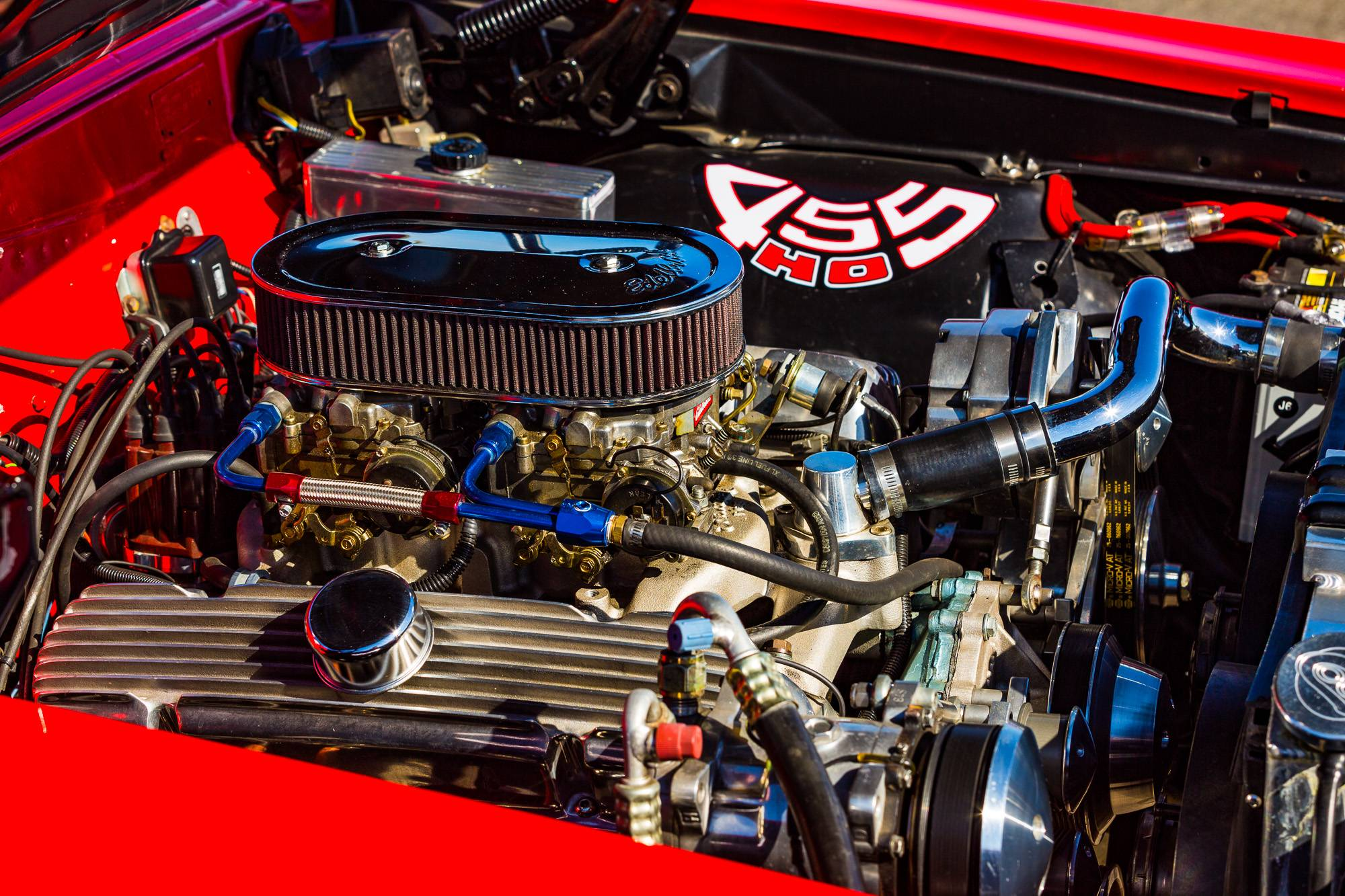 1964 GTO Engine Compartment