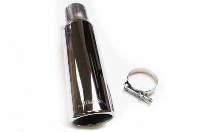JBA Exhaust - 2.5 x 3.5 x 15 Double Wall Polished S/S Chrome Tip