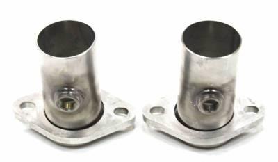 """JBA Exhaust - Starter Tubes 304SS 2.5"""" w/O2 bungs"""