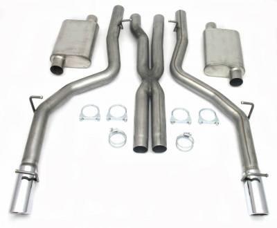 JBA Exhaust - 06-10 Dodge SRT8, 6.1L Hemi