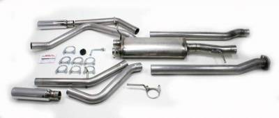 JBA Exhaust - 05-17 Chevy Silverado/GMC Sierra Dual Exit