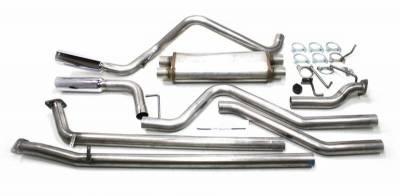 JBA Exhaust - 07-14 Tundra 4.7L 5.7L Universal Dual