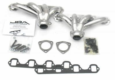 JBA Exhaust - SB Ford Block Hugger 289/302/351 Sil Cer