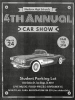 Madison High School's 4th Annual Car Show