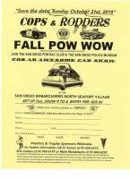 Cops & Rodders / Fall Pow Wow Car Show