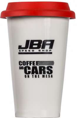 JBA Coffee & Cars Tumbler w/Lid