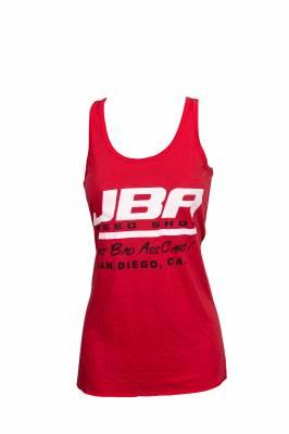 JBA Womens Red Tank Top