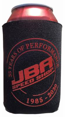 JBA Drink Koozie - JBA Just Bad Ass Cars! Black/Red