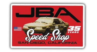 JBA 35 Years MUSTANG Sticker