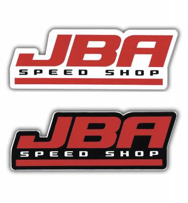 JBA Logo Sticker white/black