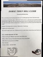 Horse Thief Hill Climb