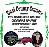 East County Cruisers Holiday Car Show & Toy Drive