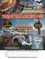 Trunk or Treat at Belmont Park Car Show
