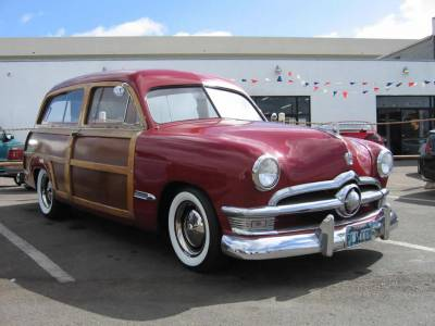 '50 FORD WOODIE Cover