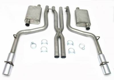 Exhaust Systems - Automotive - JBA Exhaust - 05-10 Dodge Charg/Mag/300C