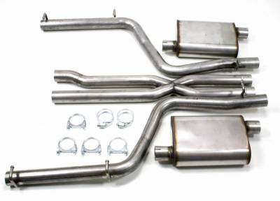 Exhaust Systems - Automotive - JBA Exhaust - 2011-14 Dodge Charger & 300C 5.7L