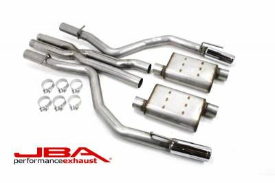 Exhaust Systems - Automotive - JBA Exhaust - 2015-18 Dodge Charger SRT8 6.4L