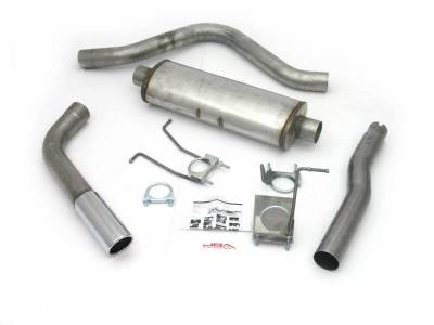 Exhaust Systems - Truck & SUV - JBA Exhaust - 87-96 Ford Super Cab LB