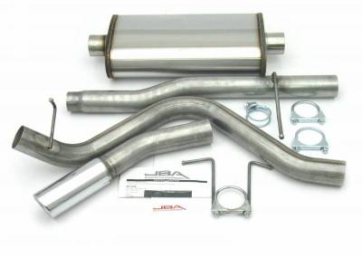 Exhaust Systems - Truck & SUV - JBA Exhaust - 01-03 Super Crew 4.6/5.4L