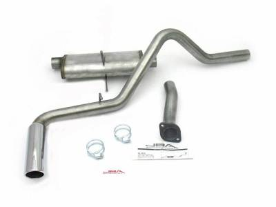 Exhaust Systems - Truck & SUV - JBA Exhaust - 98-11 Ranger Reg Cab SB