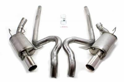 "Exhaust Systems - Automotive - JBA Exhaust - 2011-14 GT & GT -500 3"" Cat Back Exhaust"