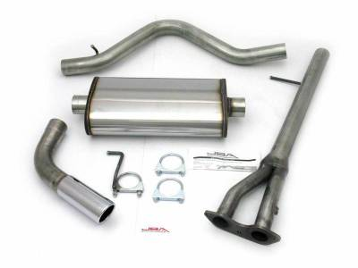 Exhaust Systems - Truck & SUV - JBA Exhaust - 96-00 GM C/K Ext SB 5.7L