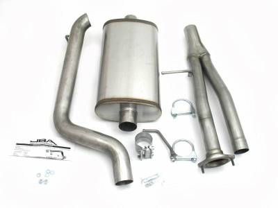 Exhaust Systems - Truck & SUV - JBA Exhaust - 03-06 H2 Hummer 6.0L 4wd