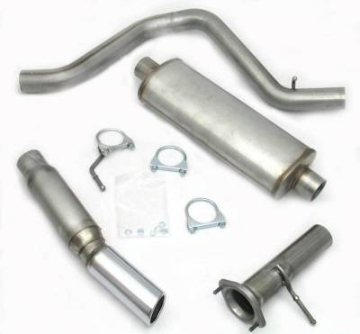 Exhaust Systems - Truck & SUV - JBA Exhaust - 02-06 Trailblazer/Envoy 2/4wd