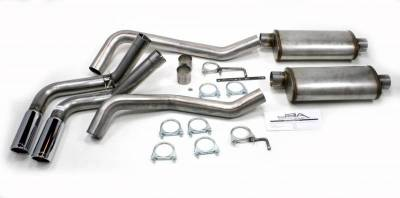 Exhaust Systems - Truck & SUV - JBA Exhaust - 01-06 GM 1500HD Crew Cab SB