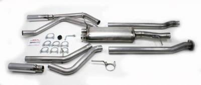 Exhaust Systems - Truck & SUV - JBA Exhaust - 05-17 Chevy Silverado/GMC Sierra Dual Exit