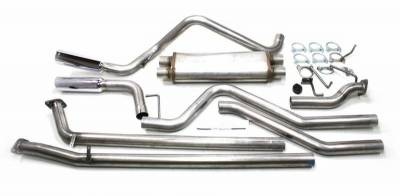 Exhaust Systems - Truck & SUV - JBA Exhaust - 07-18 Tundra 4.6,4.7,5.7L Universal Dual