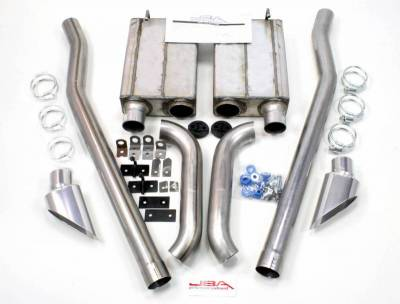 Exhaust Systems - Automotive - JBA Exhaust - 65-70 Mustang Eleanor Side Exit Exhaust