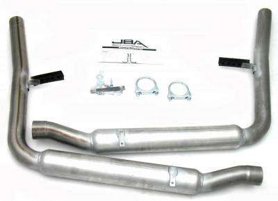 Exhaust Systems - Automotive - JBA Exhaust - 65-70 Mustang Side Exit