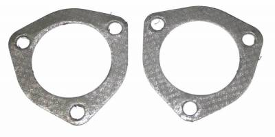 "Performance Exhaust - Exhaust Gaskets - JBA Exhaust - 3 Bolt 2.5"" Wire Gaskets, pair"