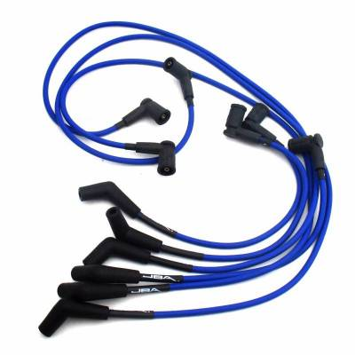 Performance Exhaust - Ignition Wires - JBA Exhaust - 01-04 Mustang 3.8L Blue