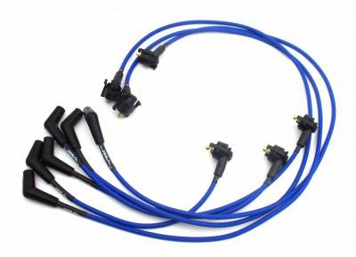 Performance Exhaust - Ignition Wires - JBA Exhaust - 99-00 Must 3.8L Blue