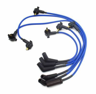 Performance Exhaust - Ignition Wires - JBA Exhaust - 90-96 Ranger/Explorer 4.0L Blue