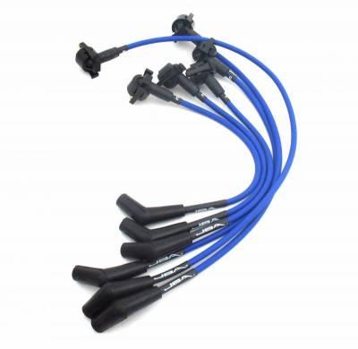 Performance Exhaust - Ignition Wires - JBA Exhaust - 97-00 Ranger/Expl 4.0L OHV Blue