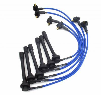Performance Exhaust - Ignition Wires - JBA Exhaust - 98-00 Ranger 3.0L Blue