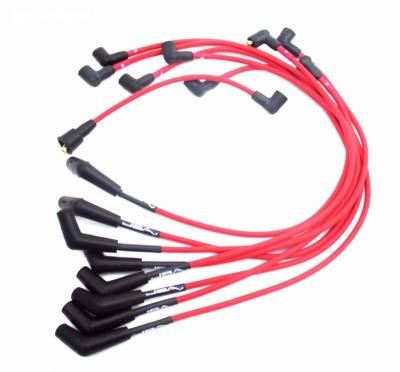 Performance Exhaust - Ignition Wires - JBA Exhaust - Ford 289/302/351 Red