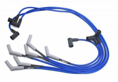 Performance Exhaust - Ignition Wires - JBA Exhaust - Ford 01-03 4.2L Blue