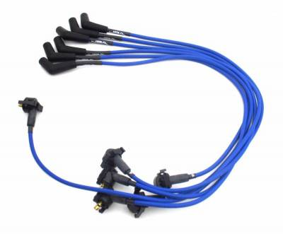 Performance Exhaust - Ignition Wires - JBA Exhaust - Ford 97-00 4.2L Blue