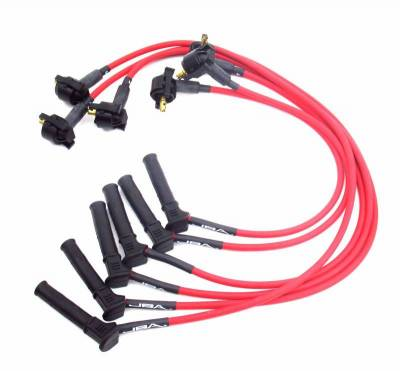 Performance Exhaust - Ignition Wires - JBA Exhaust - 01-05 Ranger 05-10 Must 4.0L Red