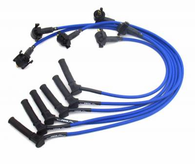 Performance Exhaust - Ignition Wires - JBA Exhaust - 01-05 Ranger 05-10 Mustang 4.0L blue