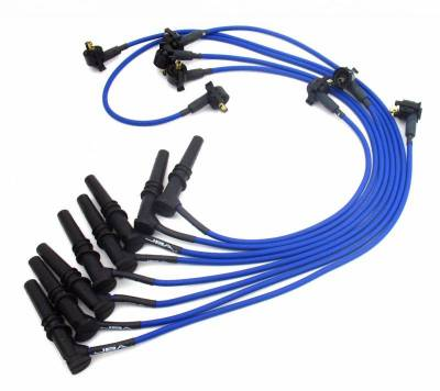 Performance Exhaust - Ignition Wires - JBA Exhaust - 97-01 F-150 4.6L Blue