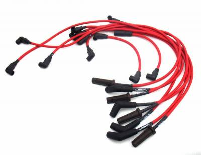 Performance Exhaust - Ignition Wires - JBA Exhaust - 88-95 GM 454 Truck Red