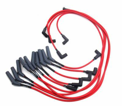 Performance Exhaust - Ignition Wires - JBA Exhaust - Dodge Truck V10 Red
